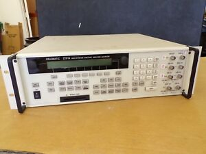 Pragmatic 2201a High Def Arbitrary Waveform Generator Parts Or Repair Only