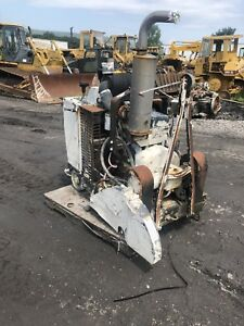 Concrete Saw John Deer Diesel Engine