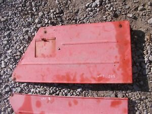 Case Vao Tractor Side Cover Hood Panels Panel Looks Good W Door