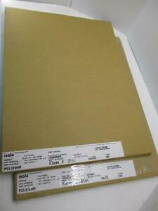 Isola Pcl370hr Copper S1 s1 24x18 Grain 0280 0180 Pcb Copper Clad Laminate