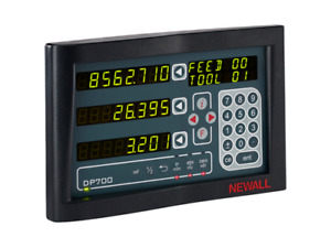 Newall Digital Readout 2 Axis Dp700 Dro Display Dp7002110s12