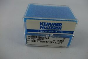 50 New Kemmer Prazision Carbide Micro Mini Drill Bits Circuit Board 1 75mm Xl