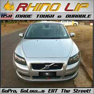 Volvo C30 C70 Dl Gle S40 S60 S70 Rubber Flex Chin Lip Splitter Spoiler Chin Lip
