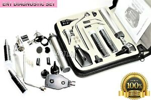 Ent Deluxe Premium Diagnostic Set otoscope Ophthalmoscope Speculum Medical