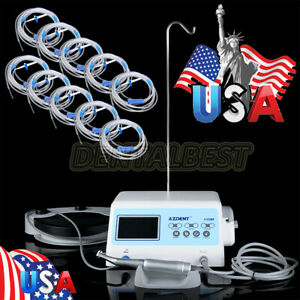 Azdent Micromotor Surgical Implant System Motor handpiece 10bags Irrigation Tube