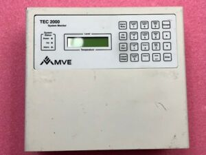 Mve Tec 2000 Cryogenic Sys Monitor Liquid Level Temperature Sensor controller