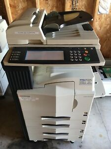 Kyocera Mita Km 5035 Copy print fax scan B w Office commercial Amazing Deal
