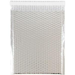 Jam Paper Bubble Mailers With Self Adhesive Closure 9 X 12 Silver