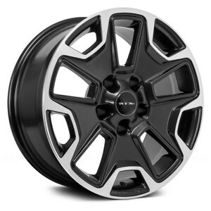 Rtx Summit Wheels 17x8 35 5x110 65 1 Black Rims Set Of 4