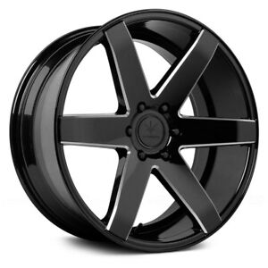 For Dodge Charger 06 18 Verde V24 Invictus Wheels 22x9 5 18 5x114 3 4 Rims