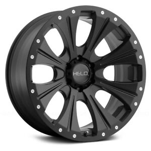 Helo He901 Wheels 18x9 18 6x135 87 1 Black Rims Set Of 4