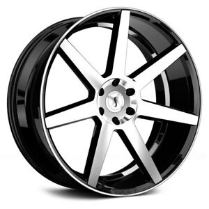 For Dodge Charger 07 18 Status Journey Wheels 24x10 15 5x114 3 4 Rims Set