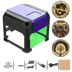 3000mw Mini Usb Laser Engraver Printer Carver Diy Engraving Cutting Machine Cn