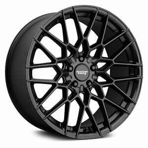 For Ford Mustang American Racing Ar927 Barrage 1pc Wheels 20x10 5 45 5x114 3