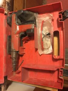 Hilti Dx 350 Powder Actuated Fastenting Gun W case