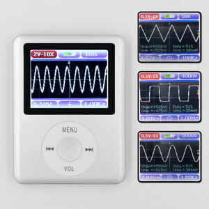 Handheld Mini Pocket Portable Lcd Display Digital Oscilloscope 20mhz 100ms s New