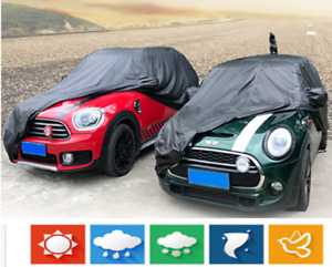 Full Car Cover Auto Sun Snow Dust Rain Resistant Protection For Mini Cooper