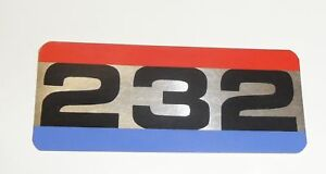 Jeep Decal Amc 232 I6 Air Cleaner Decal