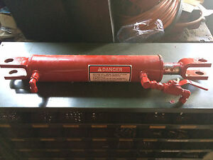 Nos Oem 86610206 87017188 End Gate Hydraulic Cylinder For New Holland Spreaders