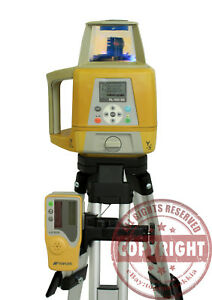 Topcon Rl 100 2s Dual Slope Long Range Self leveling Laser Level Spectra grade