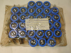 Lot Of 30 Cde Cornell Dubilier 381lx333m025a052 Electrolytic Capacitor k5