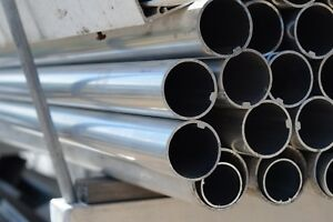 Extruded Aluminum Round Tubing Od 1 9 16 X 1 16 Wall X 202 Long