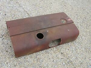 Farmall 706 Tractor Excellent Original Ih Ihc Hood For Over Engine