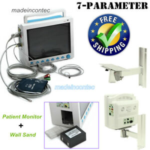 Portable Multi parameter Vital Signs Patient Monitor Icu ccu Machin wall Bracket
