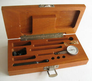 Brown Sharpe Bestest 7029 2 001 Swiss Made Dial Indicator Kit W Tools