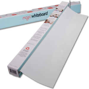 Magic Whiteboard 65 Feet Of Whiteboard On A Roll 25 Dry Erase Sheets