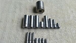 16 S K Sk Proto Tools 16 Pieces Metric Standard Sockets
