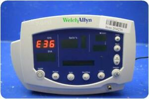 Welch Allyn 53ntp 007 0105 01 Nibp Patient Monitor 204236