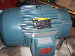 BALDOR ELECTRIC Motor  1730 RPM VARIABLE SPEED 3 PHASE TYPE P