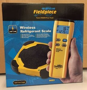 Fieldpiece Srs3 Wireless Refrigerant Scale