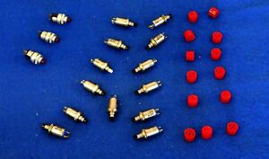 Lot Of 16 Miniature Momentary Pushbutton Switches