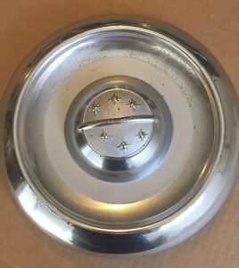 1956 56 Oldsmobile Dogdish Poverty Cap Hubcap Factory Original Very Nice