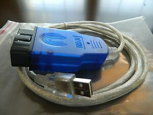 Vag Com Cable Usb Scanner Tool Obd 2 Ftdi 409 1 Ross Tech Us Stock