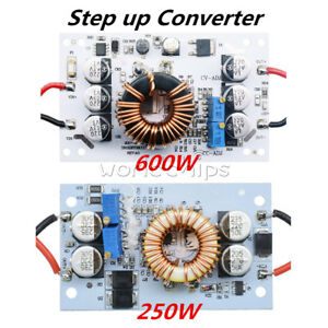 250 600w 10a Step Up Dc Boost Converter Constant Current Power Supply Led Module