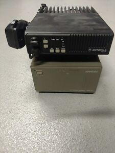 Motorola Low Band 42 50 Mhz Radio With Mic And Power Supply