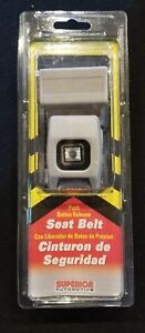 2 Sets Light Gray Seat Lap Belts 74 Inches New With Hardware Hot Rod Street