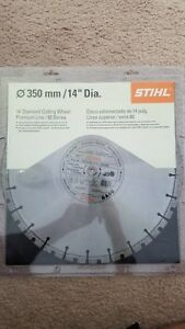 Stihl Cutoff 14 Diamond Cutting Wheel Premium Line 80 Series 0835 090 2021