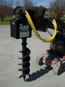 Toro Dingo Mini Skid Steer Attachment Lowe 750 Auger Drive 12 Bit Ship 199