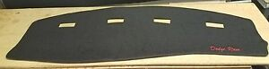2002 2003 2004 2005 Dodge Ram P u 1500 2500 Dash Cover Black Polycarpet