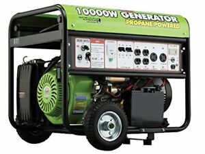 All Power Portable Propane Generator W Electric Start For Home Use Rv Standby