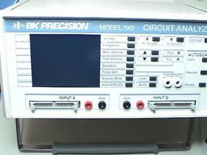 B K Precision 545 Circuit Analyzer Compatible With Huntron 2700