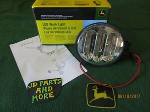 New Oem John Deere Tractor Led Flood Work Light Re575338 12 Vdc 3150 Lumens