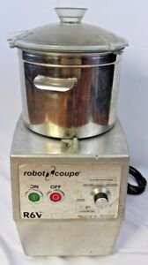 Robot Coupe R6v High Speed Industrial Food Processor