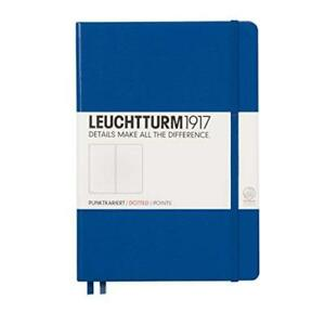 Leuchtturm1917 344747 Notebook Medium a5 249 Numbered Pages Dotted Royal Bl