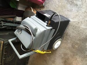 Pacific Super 10r Dual Vac Motor Upholstery Carpet Extractor