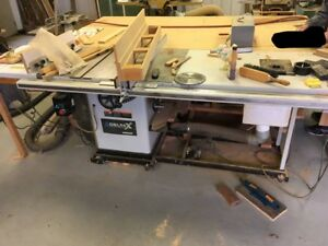 Woodworking Shop Table Saw Jointer Planer Band Saw And More